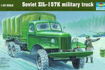 ZIL-157K Soviet Military Truck w/Canvas · TRU 01003 ·  Trumpeter · 1:35