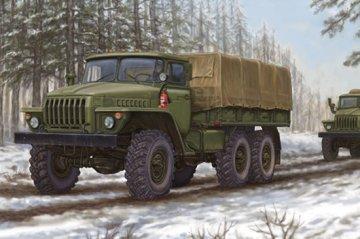 Russian URAL-4320 Truck · TRU 01012 ·  Trumpeter · 1:35
