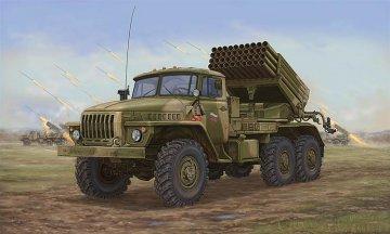 Russian BM-21 Hail MRL-Late · TRU 01014 ·  Trumpeter · 1:35