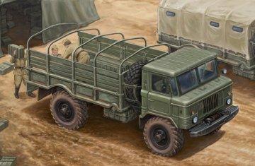 Russian GAZ-66 Light Truck I · TRU 01016 ·  Trumpeter · 1:35
