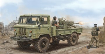 Russian GAZ-66 Light Truck II · TRU 01017 ·  Trumpeter · 1:35