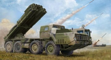 Soviet BM-30 Smerch Rocket Launcher · TRU 01020 ·  Trumpeter · 1:35