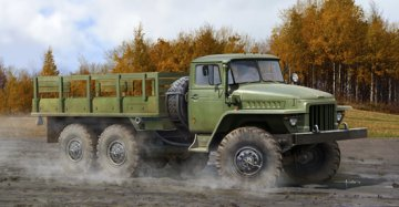 Russian URAL-375D · TRU 01027 ·  Trumpeter · 1:35
