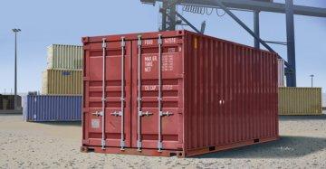 20ft Container · TRU 01029 ·  Trumpeter · 1:35