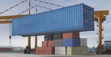40ft Container · TRU 01030 ·  Trumpeter · 1:35