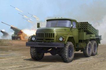 Russian 9P138 Grad-1 on Zil-131 · TRU 01032 ·  Trumpeter · 1:35