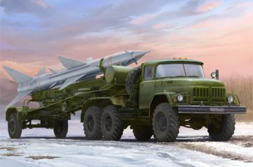 Russian Zil-131V towed PR-11 SA-2 Guideline · TRU 01033 ·  Trumpeter · 1:35