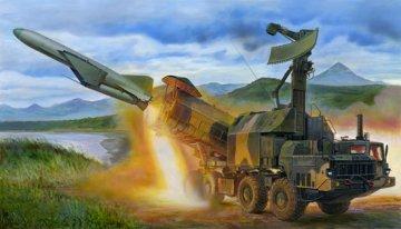 Russian 4K51 Rubezh Coastal ASM with P-15 · TRU 01035 ·  Trumpeter · 1:35