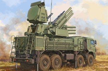 Russian 72V6E4 Combat Unit of 96K6 Pantsir -S1 ADMGS (w/RLM SOC S-band Radar · TRU 01061 ·  Trumpeter · 1:35
