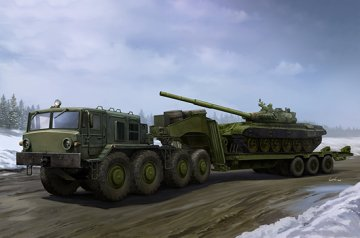 MAZ-537G Late Production type with ChMZAP-9990 semi-trailer · TRU 01065 ·  Trumpeter · 1:35