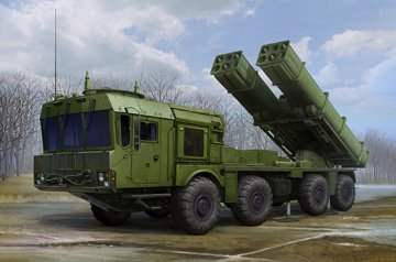 Russian 9A53 Uragan-1M MLRS (Tornado-s) · TRU 01068 ·  Trumpeter · 1:35