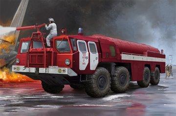 Airport Fire Fighting Vehicle AA-60 (MAZ-7310) 160.01 · TRU 01074 ·  Trumpeter · 1:35