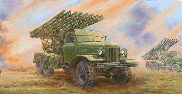Soviet 2B7 Multiple Rocket Launcher BM-13 NM · TRU 01075 ·  Trumpeter · 1:35