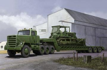 M920 Tractor tow M870A1 Semi Trailer · TRU 01078 ·  Trumpeter · 1:35