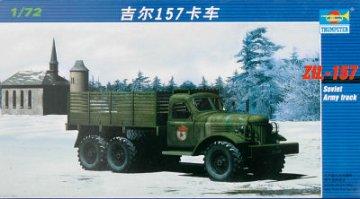 Russischer LKW ZIL-157 · TRU 01101 ·  Trumpeter · 1:72
