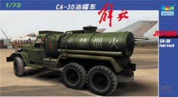 Chinesischer Tank-LKW Jiefang CA-30 · TRU 01104 ·  Trumpeter · 1:72