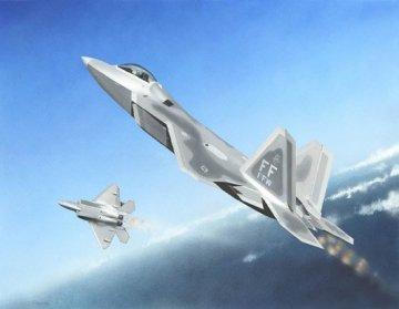 F-22A Raptor · TRU 01317 ·  Trumpeter · 1:144