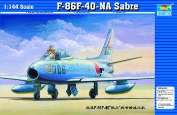 North American F-86 F-40 Sabre · TRU 01321 ·  Trumpeter · 1:144