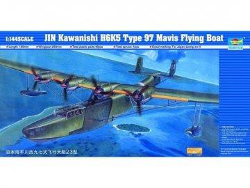 Kawanishi H6K5/23 Typ 97 Flugboot · TRU 01322 ·  Trumpeter · 1:144