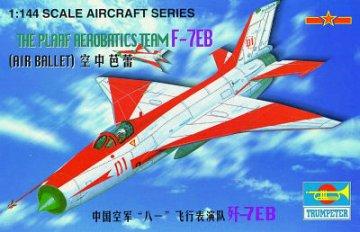 J-7 EB China · TRU 01326 ·  Trumpeter · 1:144