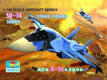 Sukhoi Su-34 Strike Flanker · TRU 01329 ·  Trumpeter · 1:144