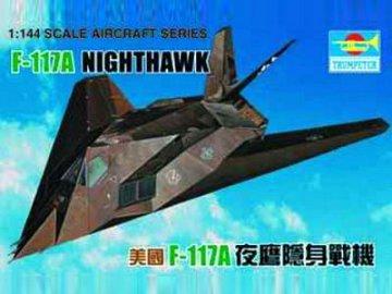 Lockheed F-117 A Night Hawk · TRU 01330 ·  Trumpeter · 1:144