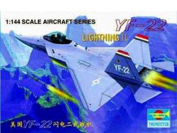 Lockheed YF-22 · TRU 01331 ·  Trumpeter · 1:144