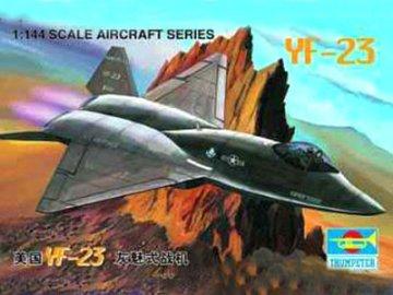 Lockheed YF-23 · TRU 01332 ·  Trumpeter · 1:144