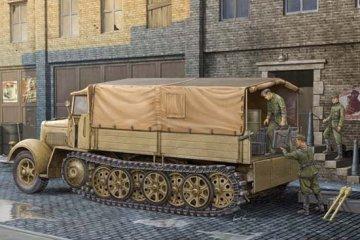 German Sd.Kfz.7 Mittlere Zugkraftwagen8t Late Version · TRU 01507 ·  Trumpeter · 1:35