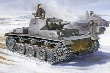German VK 3001 (H) PzKpfw VI (Ausf. A) · TRU 01515 ·  Trumpeter · 1:35