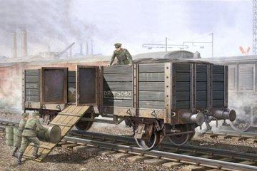 German Railway Gondola · TRU 01517 ·  Trumpeter · 1:35