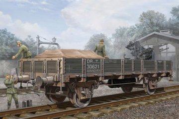 German Railway Gondola (Lower sides) · TRU 01518 ·  Trumpeter · 1:35