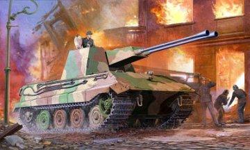 German E-75 Flakpanzer · TRU 01539 ·  Trumpeter · 1:35