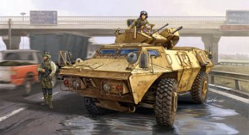 M1117 Guardian Armored Security Vehicle (ASV) · TRU 01541 ·  Trumpeter · 1:35