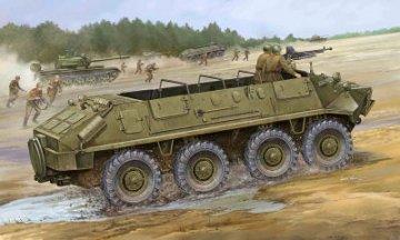 BTR-60P APC · TRU 01542 ·  Trumpeter · 1:35