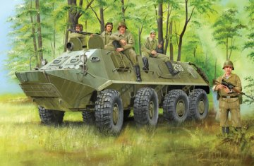 BTR-60PA · TRU 01543 ·  Trumpeter · 1:35