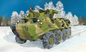 BTR-60PB Upgraded · TRU 01545 ·  Trumpeter · 1:35