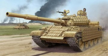 T-62 ERA Mod.1972 (Iraqi Regular Army) · TRU 01549 ·  Trumpeter · 1:35