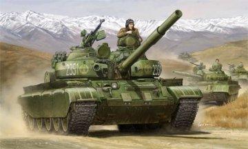 Russian T-62 BDD Mod. 1984 · TRU 01554 ·  Trumpeter · 1:35