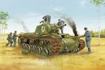 Soviet KV-8 Heavy Tank · TRU 01565 ·  Trumpeter · 1:35