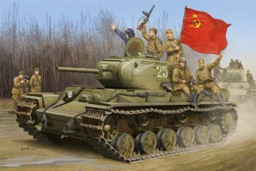 Soviet KV-1S Heavy Tank · TRU 01566 ·  Trumpeter · 1:35