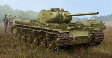Soviet KV-1S/85 Heavy Tank · TRU 01567 ·  Trumpeter · 1:35