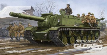 Soviet SU-152 Self-propelled Heavy How. · TRU 01571 ·  Trumpeter · 1:35