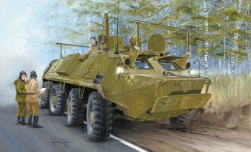 BTR-60PU · TRU 01576 ·  Trumpeter · 1:35