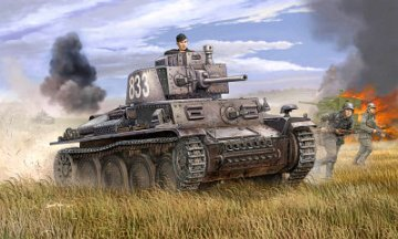 German PzKpfw 38(t) Ausf.E/F · TRU 01577 ·  Trumpeter · 1:35