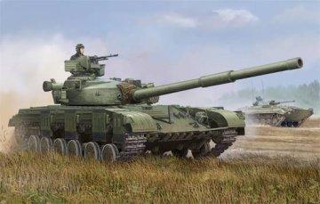 Soviet T-64 MOD 1972 · TRU 01578 ·  Trumpeter · 1:35