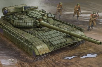 Soviet T-64AV MOD 1984 · TRU 01580 ·  Trumpeter · 1:35