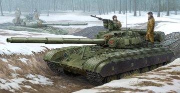 Soviet T-64B MOD 1975 · TRU 01581 ·  Trumpeter · 1:35