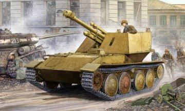 Krupp/Ardelt Waffentrager 105mm leFH-18 · TRU 01586 ·  Trumpeter · 1:35