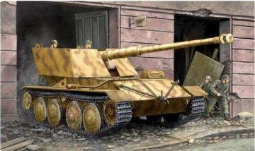 Krupp/Ardelt Waffenträger 88mm PAK-43 · TRU 01587 ·  Trumpeter · 1:35